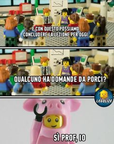 The most beautiful picture for lego battute sporche, for your enjoyment . Funny Test, Funny Jokes, Lego Boxes, Vignettes, Puns, Most Beautiful Pictures, Haha, Funny Pictures, Memes