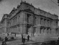Teatro Colón. Finalizando su construcción en 1908. #moscato