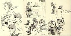Toronto Subway Sketch Group Blog: 2007