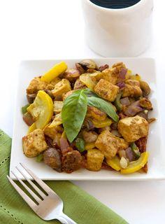 Vegan Tofu Scramble   glutenfreeifyouplease.com