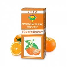 Eteryczny Olejek Pomarańczowy 10 ml ETJA