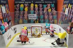 hockey! peeps