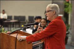 Administrator McCarthy also talked about EPA's Clean Power Plan and its role in driving the growth of renewable energy, and she encouraged the young people to continue raising their voices for environmental justice and healthier communities. (7 of 15)