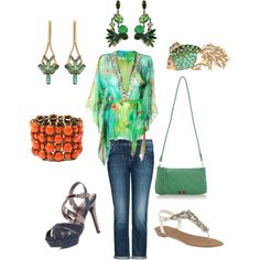 In A Tropical Mood (created by lojo-12 on Polyvore)