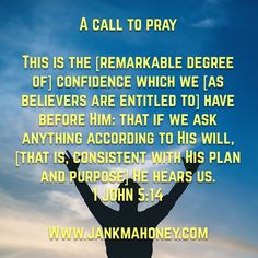 A CALL TO PRAY
