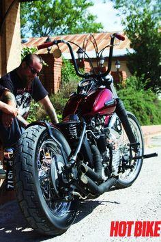 Web Only Exclusive: Old El Paso Spit Shine - 1947 Harley-Davidson Knucklehead | Hot Bike