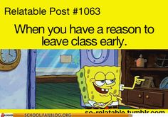 or I feel like everyone is staring at me as I leave....