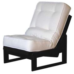 Futon Chair Converts To A Twin Bed Would Be Great In Home Office