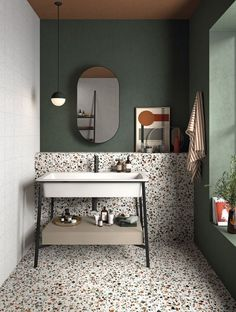 Salon Interior Design, Bathroom Interior Design, Toilet And Bathroom Design, Small Toilet Design, Bathroom Lighting Design, Washroom Design, Green Interior Design, Luxury Interior, Bad Inspiration