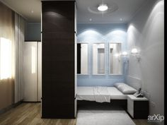 интерьер 2-х комнатной квартиры на 2 этаже: интерьер, зd визуализация, квартира, дом, спальня, минимализм, 10 - 20 м2, интерьер #interiordesign #3dvisualization #apartment #house #bedroom #dormitory #bedchamber #dorm #roost #minimalism #10_20m2 #interior arXip.com