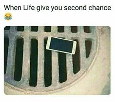 The post When life give you second chance appeared first on Gag Bee. Funny School Jokes, Very Funny Jokes, Crazy Funny Memes, Really Funny Memes, Funny Facts, Haha Funny, Hilarious, Funny Memes Images, Funny Qoutes