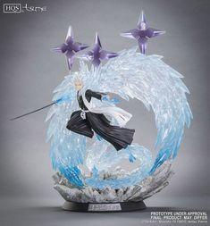 Bleach - Toshiro Hitsugaya HQS Statue by Tsume Art - HanamiFlower Madara Uchiha, Naruto Shippuden, Disney Pop, Bleach Figures, Anime Shop, Toy People, Stills For Sale, Pokemon, Bleach Manga