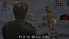 Dog ending SH2