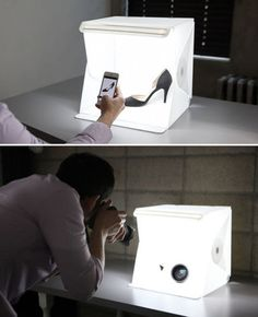 LUCE-SALA-STUDIO-FOTOGRAFICO-9-Fotografia-Illuminazione-Kit-Tenda-Luce-Cubo-MINI-BOX