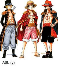 Ace, Sabo & Luffy - ASL