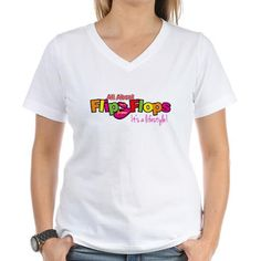 You'll love our All About Flip Flops logo t-shirts!