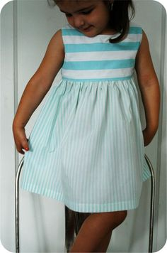 Free PDF pattern - may try this with knit fabric instead.