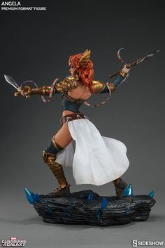 The Angela Premium Format Figure is now available at Sideshow.com for fans of Marvel Comics, Asgard, Thor and Guardians of the Galaxy