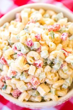Pepper jack pasta salad soup and salad, pasta salad, crab salad, cheese salad Potluck Dishes, Pasta Dishes, Food Dishes, Pasta Salad Ingredients, Pasta Salad Recipes, Pepper Pasta, Bell Pepper, Side Dishes Easy, Side Dish Recipes