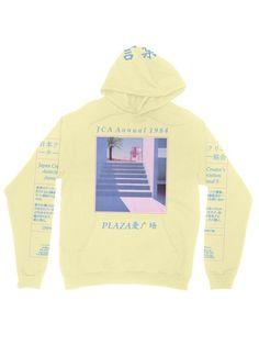 Public Space: JCA annual hoodie – p u b l i c s p a c e . Vaporwave Clothing, Cute Fashion, Fashion Outfits, Emo Fashion, Stylish Hoodies, Kawaii Clothes, Aesthetic Clothes, Aesthetic Hoodie, Cool Outfits