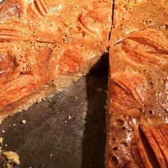 cuisinedemememoniq:Tarte normande au carambar #patisserie #tarte...