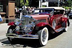 1934 Duesenberg J Dual-Cowl Phaeton body by Murphy - (Duesenberg Automobile & Motors Company, Inc. Auto Retro, Retro Cars, Vintage Cars, Antique Cars, Sexy Cars, Hot Cars, Duesenberg Car, Porsche 911 Gt2, Roadster