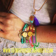 Georgeous Design necklace & friendship bracelets