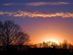 Sunrise in Odijk by hugodejong35