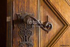"""Laden Sie das lizenzfreie Foto """"Alte Klostertür"""" von Photocreatief zum günstigen Preis auf Fotolia.com herunter. Stöbern Sie in unserer Bilddatenbank und finden Sie schnell das perfekte Stockfoto für Ihr Marketing-Projekt!"""