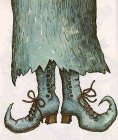 Illustration from 'Witches Four' by Marc Brown.