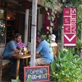 Kafe Feast on the freshest organic fare with great music, healthy foods, yummy desserts and true espresso, all in the heart of Ubud Ubud, Bali, Vegetarian, Restaurant, Organic, Fresh, Diner Restaurant, Restaurants, Dining