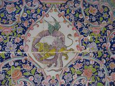 Golestān Palace - Tile detail
