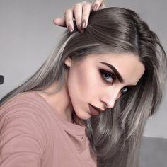LOOKBOOK, hair style, make up, макияж, пепельные волосы, девушка