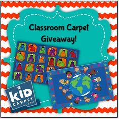 Math Coach's Corner: Classroom Carpet Giveaway!!  Win a free classroom rug!