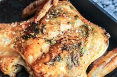 Roasted Chicken with Fresh Herb Compound Butter I'd mentioned ...