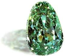 The Dresden Green originated in the Kollur mines in Southern India.The Dresden Green Diamond has a historical record dating back to 1722 when a London news sheet carried an article about it in its 25 October. It was acquired by Augustus III of Poland in 1742 at the Leipzig Fair. In 1768  the diamond was incorporated into an extremely valuable hat ornament surrounded by two large and 411 medium sized and small diamonds This is the setting that the Dresden Green still appears in today