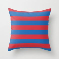 Items similar to Outdoor Throw Pillow Cover, Decorative Outdoor Throw Pillow Cover, Red, Blue Striped Pillow Cover on Etsy Teal Throws, Teal Throw Pillows, Outdoor Throw Pillows, Outdoor Pillow Covers, Decorative Pillow Covers, Throw Pillow Covers, Designer Pillow, Designer Throw Pillows, Pillow Design