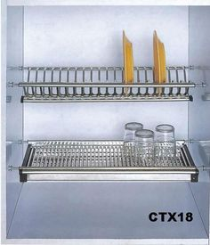 Perfect Stainless Steel/kitchen Cabinet/wall Mounted Dish Rack / China Kitchen  Furniture For Sale From Guangzhou Tinna Co.