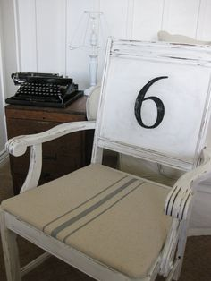 Amazing Number Chair