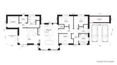 Walk In, Facade, Floor Plans, How To Plan, Interior, Inspiration, Sims, Minimalism, Garden Cottage