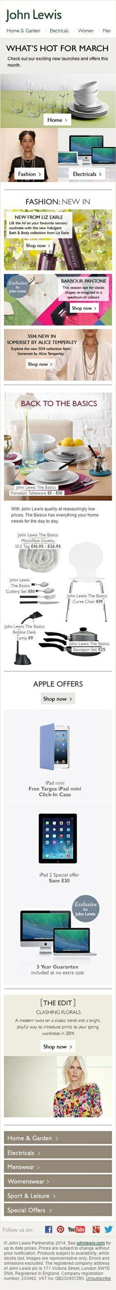 John Lewis Desktop