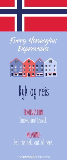 49 Hilarious Norwegian Idioms and Sayings That Will Make You Giggle Learning Tools, Learning Resources, Learning Spanish, Norway Language, Norwegian Words, Beautiful Norway, Travel Words, Norway Travel, Learn A New Language