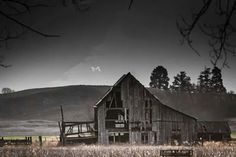Hangman's barn, Missoula MT