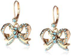 "Betsey Johnson ""Imperial Princess"" Bow Drop Earrings Betsey Johnson http://www.amazon.com/dp/B00EFW20CK/ref=cm_sw_r_pi_dp_XVtkvb0N66DZ5"