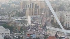 Shiloh Musings: Deja Vu, Arab Terrorist Rammed Our Bus Stop Again