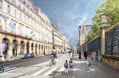 Paris anuncia conjunto de projetos para restringir o uso de automóveis no centro da cidade