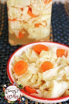 Beyaz Lahana Turşusu   Tümayın Mutfağı - En İyi Yemek Tarifleri Sitesi