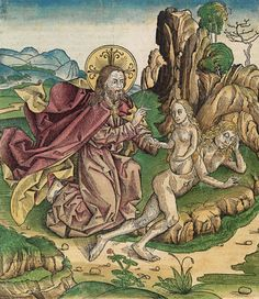 Creation of Eve, The Nuremberg Chronicle, 1493