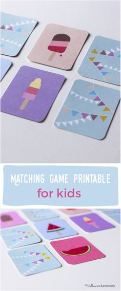 This free download matching game will put a smile on your little one's face. Enjoy the graphics and have fun. Find it over at http://www.welliesandlemonade.com/free-printable-matching-game-cards-kids