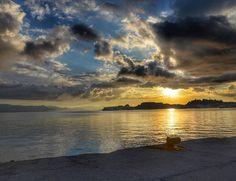 Amazing #Sunrise.. #Corfu #Beauty Photo credits: @mika_mikalet